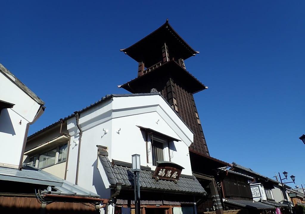 川越市を象徴する時の鐘